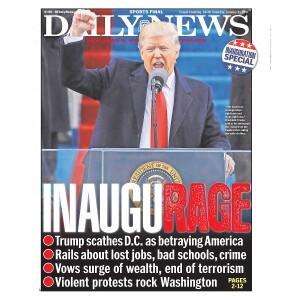 """""""INAUGURAGE"""" 1/21/2017 Page Print"""