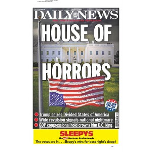 """""""HOUSE OF HORRORS"""" 11/9/2016 Page Print"""