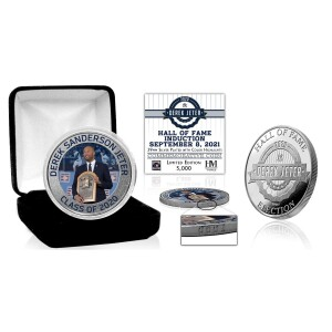 Derek Jeter Induction Day Silver Mint Coin