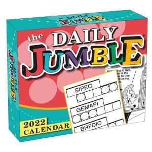 2022 Daily Jumble Calendar