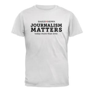 NYDN Journalism Matters T-Shirt