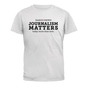 NYDN Journalism Matters T-Shirt