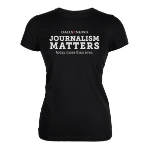 NYDN Journalism Matters Women's T-Shirt