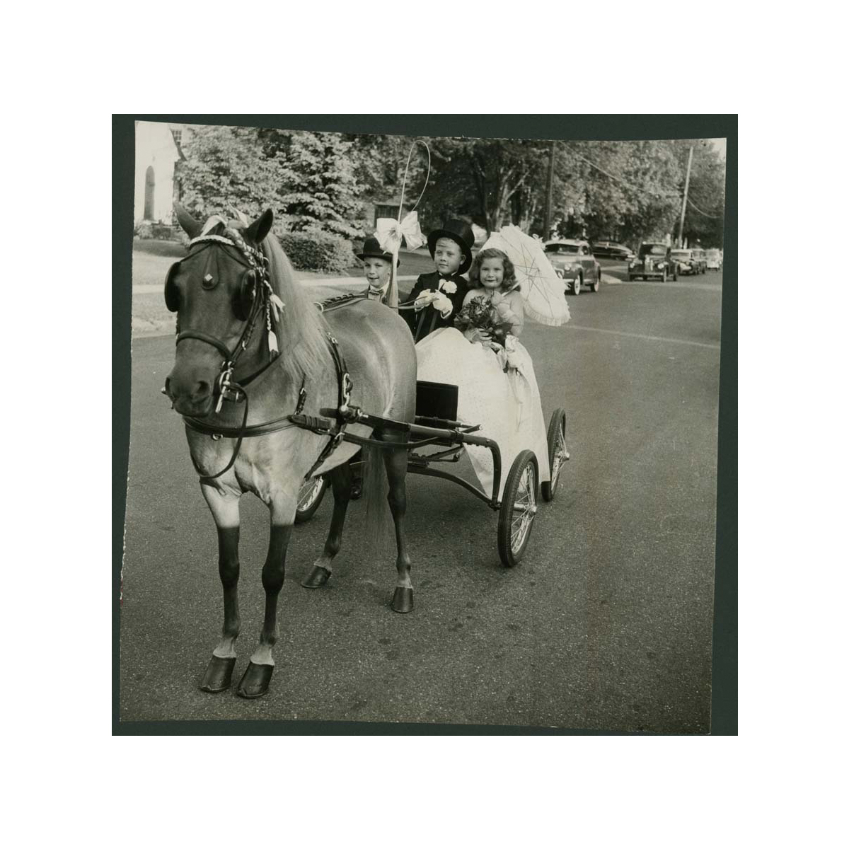 Historical Photos: Children's Horse Show