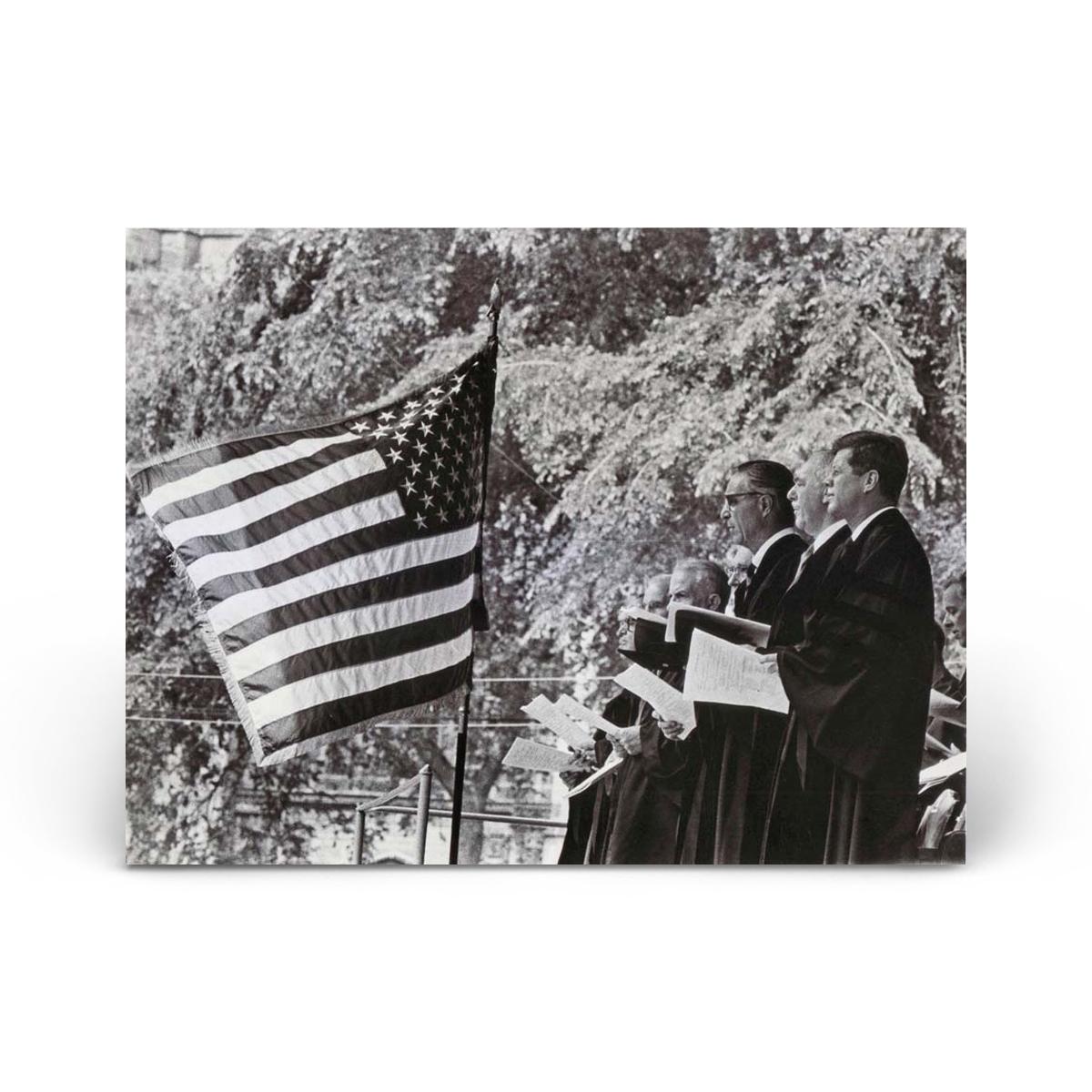 Historical Photos: John F. Kennedy Receives Honorary Yale Degree
