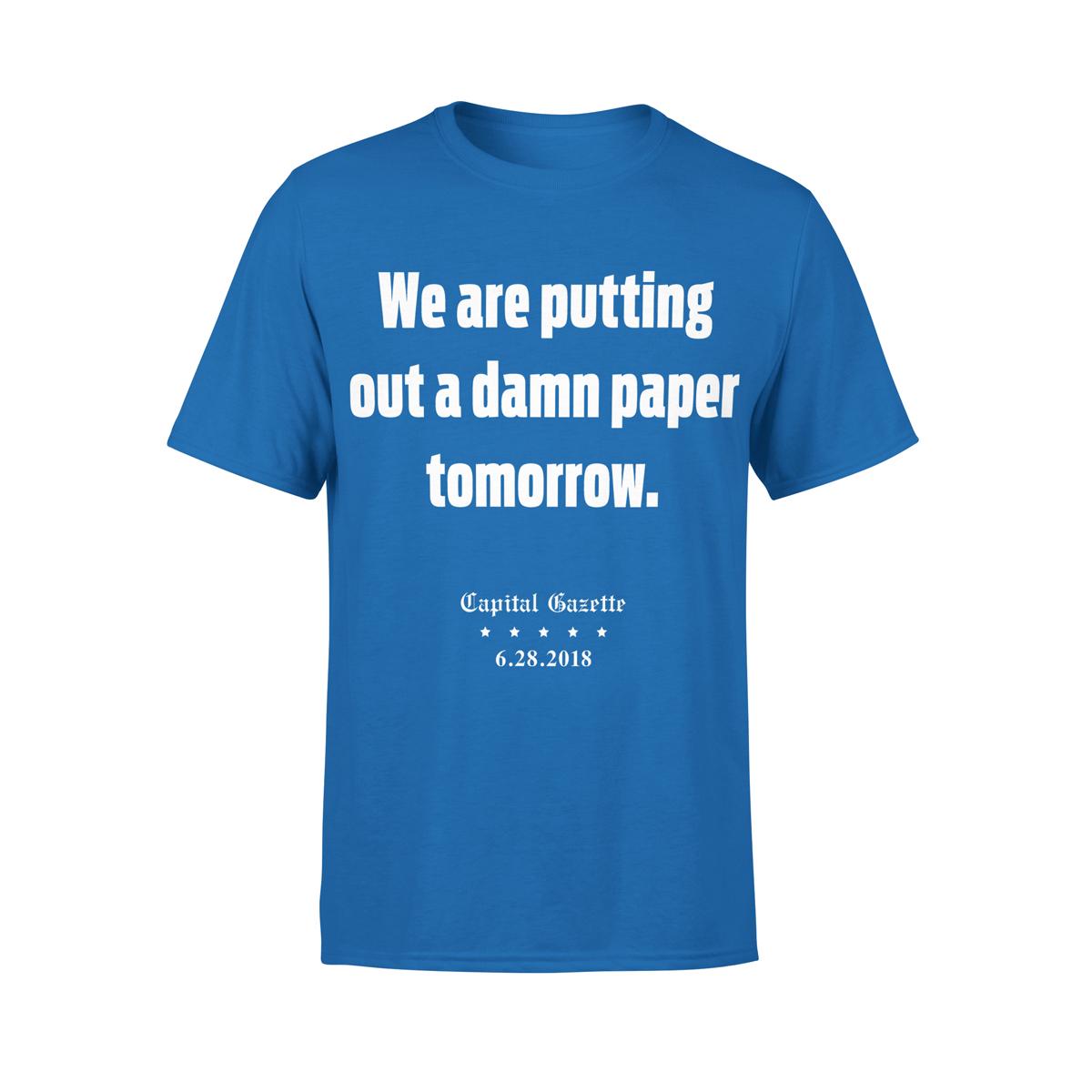 Paper Tomorrow T-shirt
