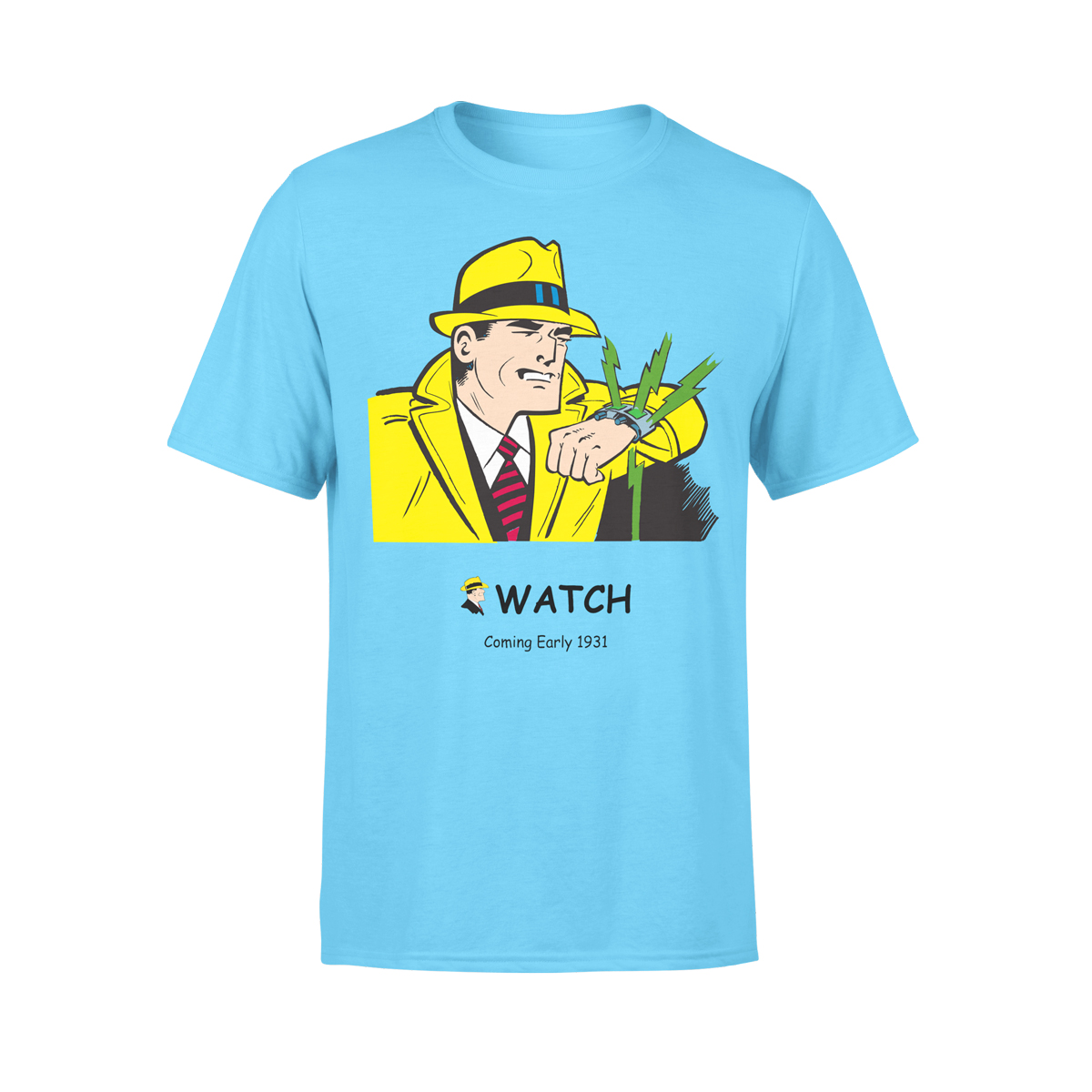 Dick Tracy Watch Coming Soon T-Shirt