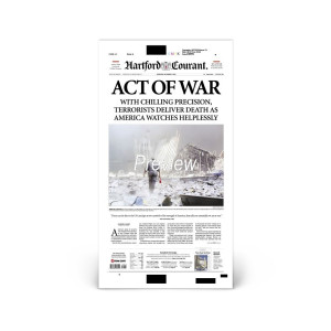 Commemorative Front Page: Act of War