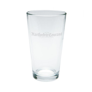 Hartford Courant Pint Glass