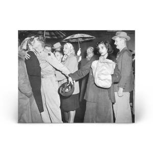Historical Photos: A Korean War Departure