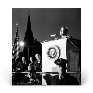 Historical Photos: John F. Kennedy in Waterbury 1962