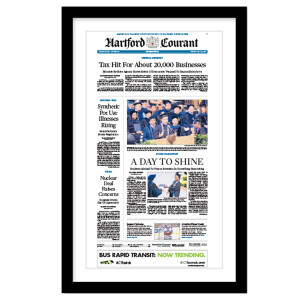 Hartford Courant Page Print