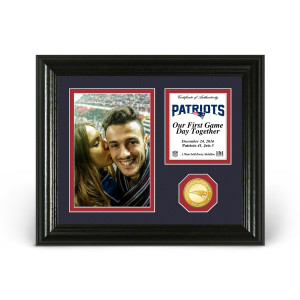 New England Patriots Game Day Personalized Photo Frame