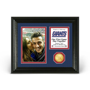 New York Giants Game Day Personalized Photo Frame