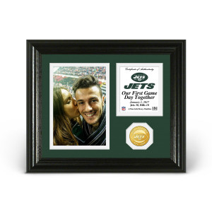 New York Jets Game Day Personalized Photo Frame