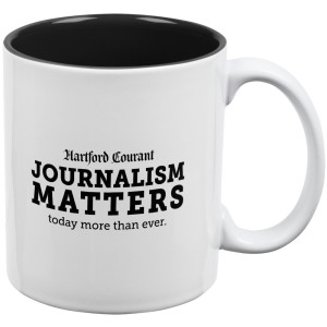 Hartford Courant Journalism Matters Mug