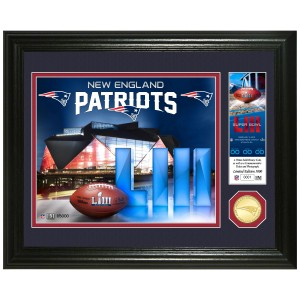 New England Patriots 2018 AFC Champions Bronze Mint Coin Photo Mint