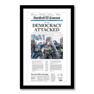 """""""Democracy Attacked"""" 1/7/2021 Page Print"""