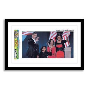 Barack Obama Election Victory 11/5/2008 Page Print