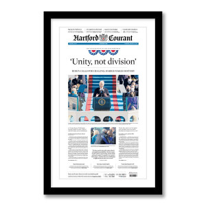 """""""Unity, Not Division"""" 1/21/2021 Page Print"""