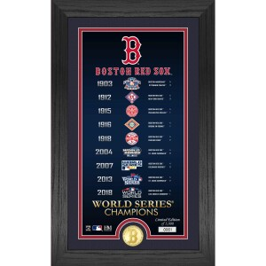 "Boston Red Sox ""Legacy"" Supreme Bronze Coin Photo Mint"