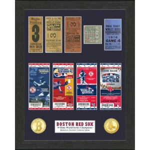 Boston Red Sox World Series Champions Ticket Collection