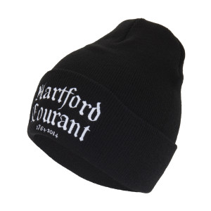 Hartford Courant Logo Knit Beanie