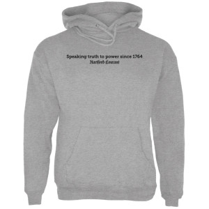 "Hartford Courant ""Speaking Truth to Power"" Hoodie"