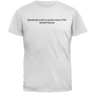 "Hartford Courant ""Speaking Truth to Power"" T-Shirt"