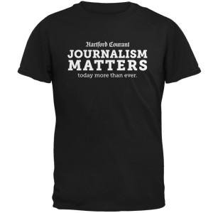 Hartford Courant Journalism Matters T-Shirt
