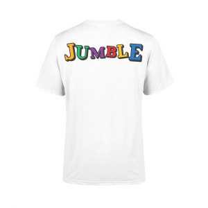 Jumble Puzzle Caribou Royalty T-Shirt
