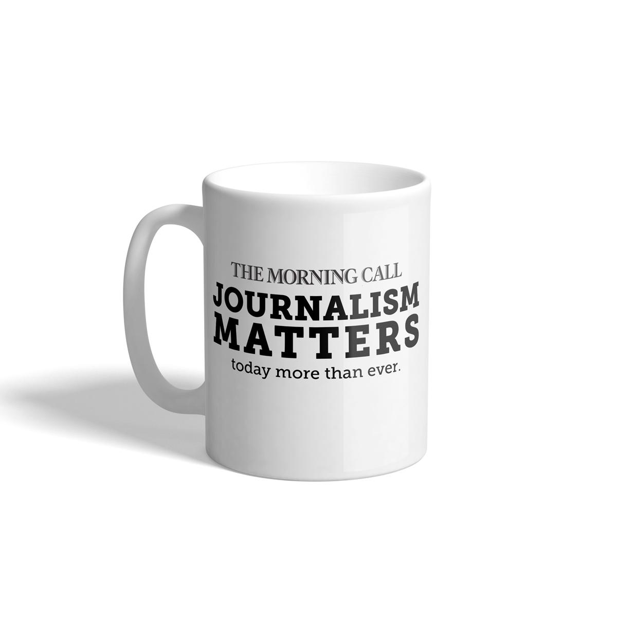 Morning Call Journalism Matters Mug
