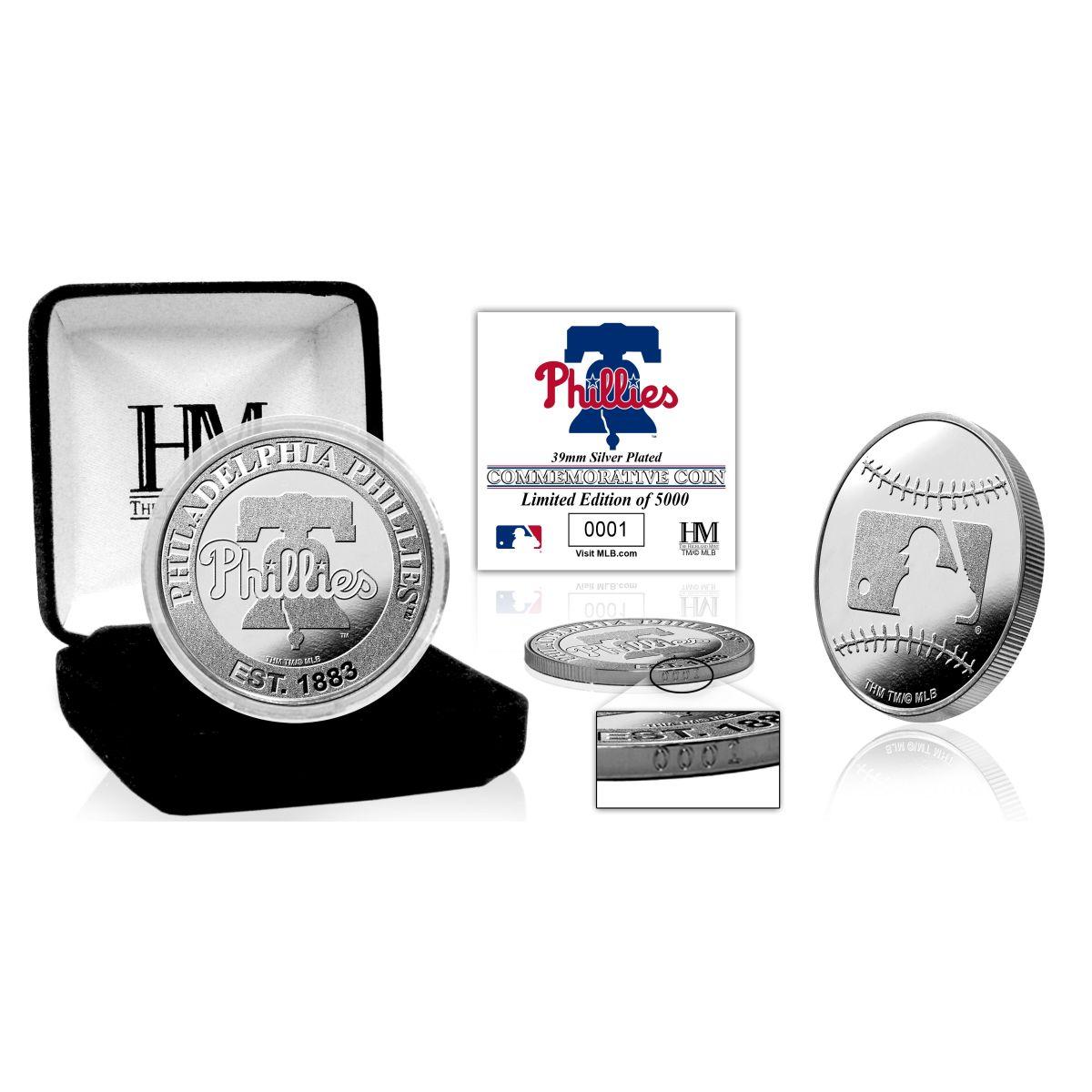 Philadelphia Phillies Silver Mint Coin