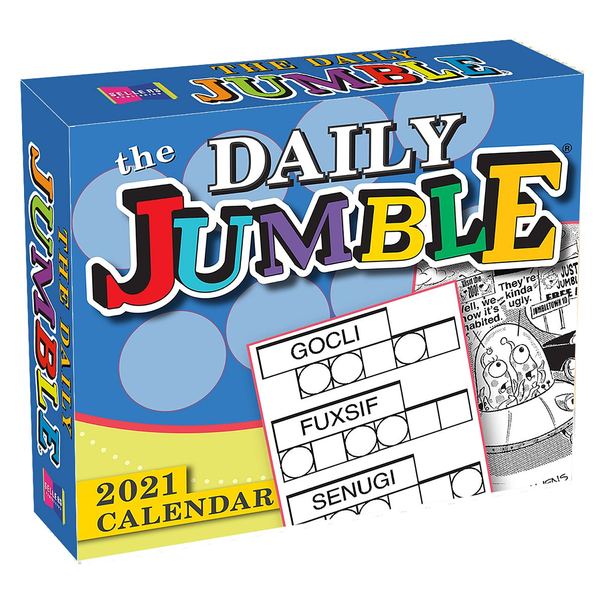 The Daily Jumble 2021 Boxed Daily Calendar