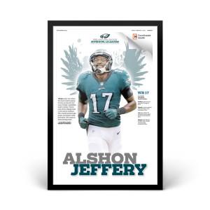 Alshon Jeffery Philadelphia Eagles Player Print 2/02/2018