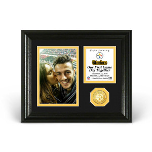 Pittsburgh Steelers Game Day Personalized Photo Frame