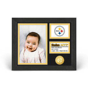 Pittsburgh Steelers Baby MVP Personalized Photo Frame