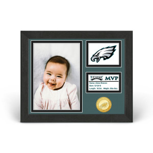 Philadelphia Eagles Baby MVP Personalized Photo Frame