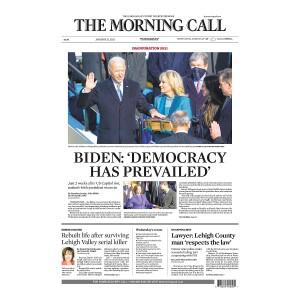 """Biden: Democracy Has Prevailed"" Jigsaw Puzzle"