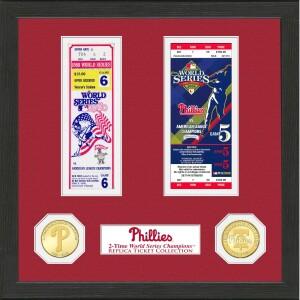 Philadelphia Phillies World Series Ticket Collection