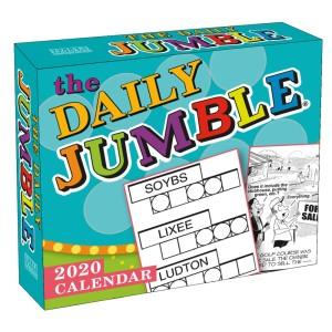 The Daily Jumble 2020 Boxed Daily Calendar