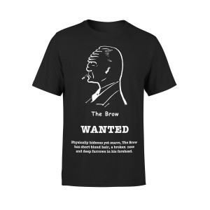 """Dick Tracy Wanted """"The Brow"""" T-Shirt"""