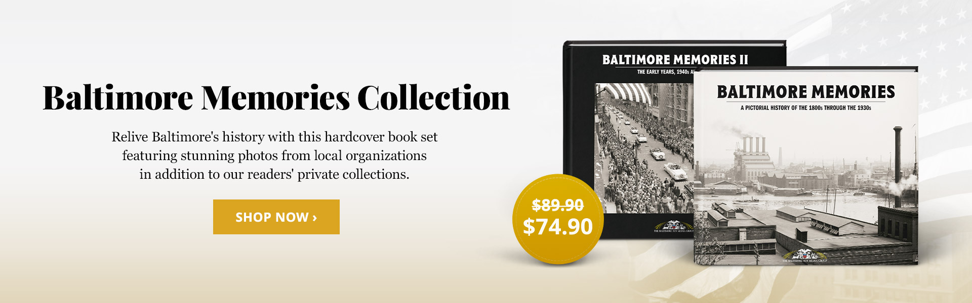 Baltimore Memories Book Set