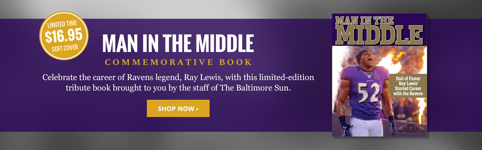 Man In The Middle: Ray Lewis