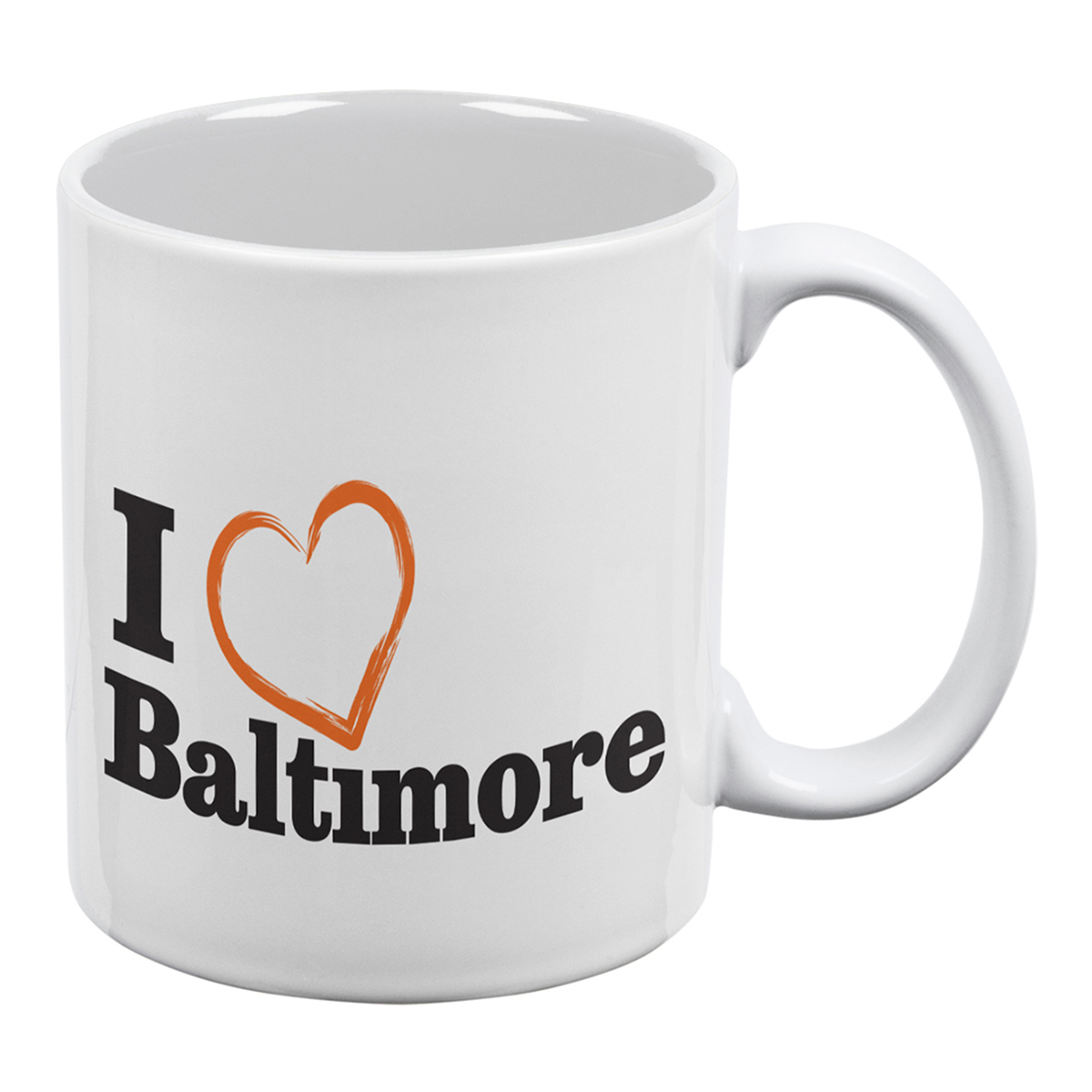 I Heart Baltimore Mug
