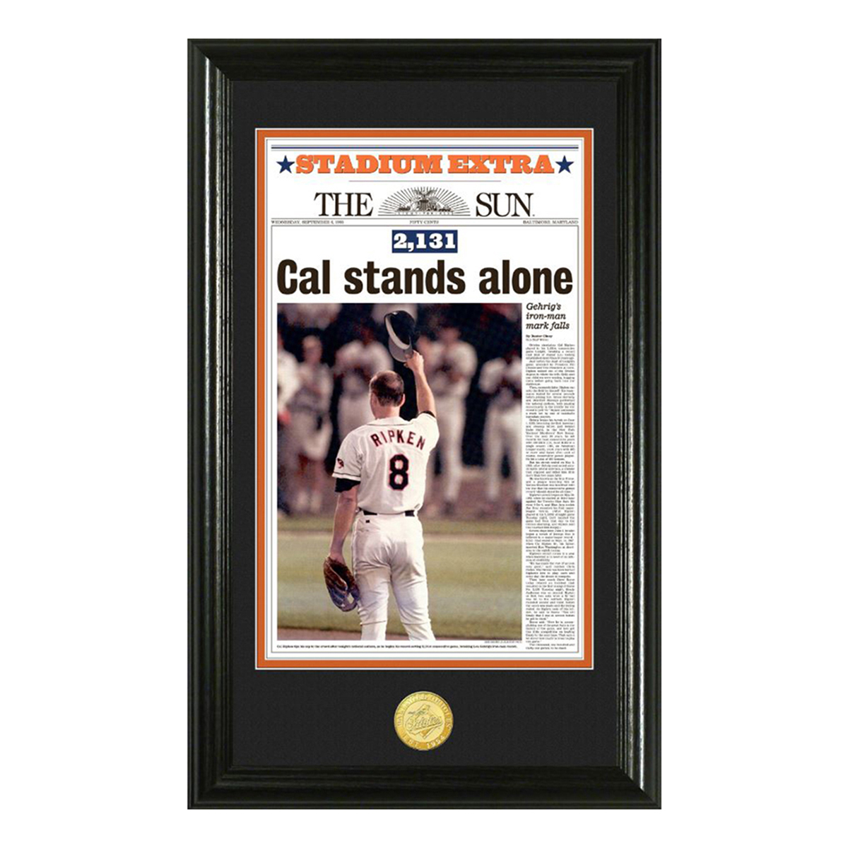 Cal Ripken Jr. 2131 Photo Mint