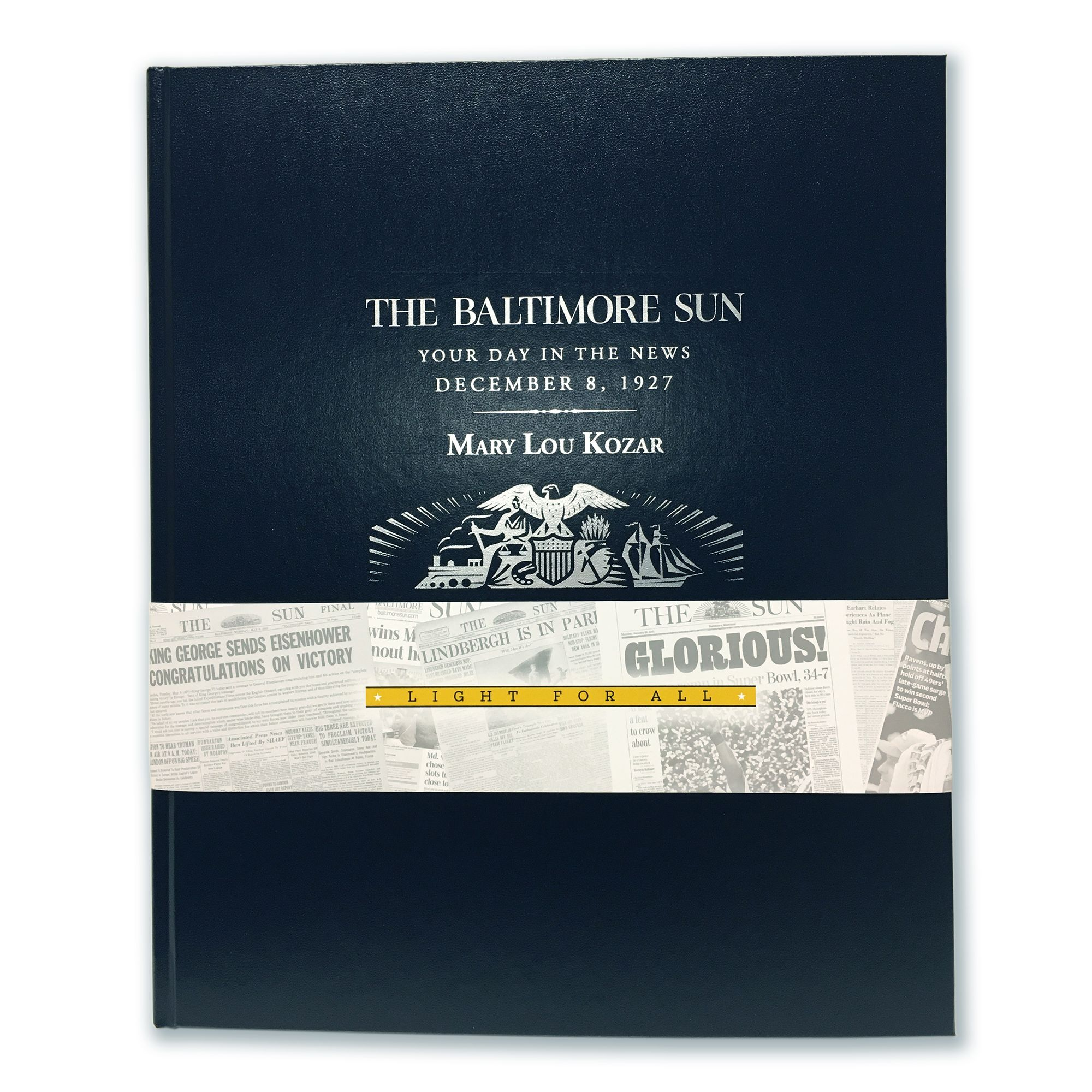The Baltimore Sun Birthday Book
