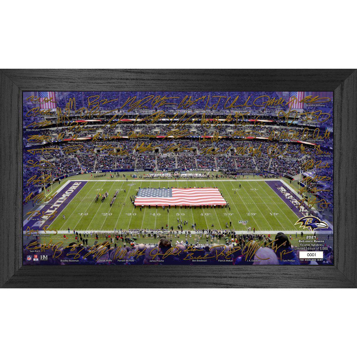 Baltimore Ravens 2021 Signature Gridiron Collection
