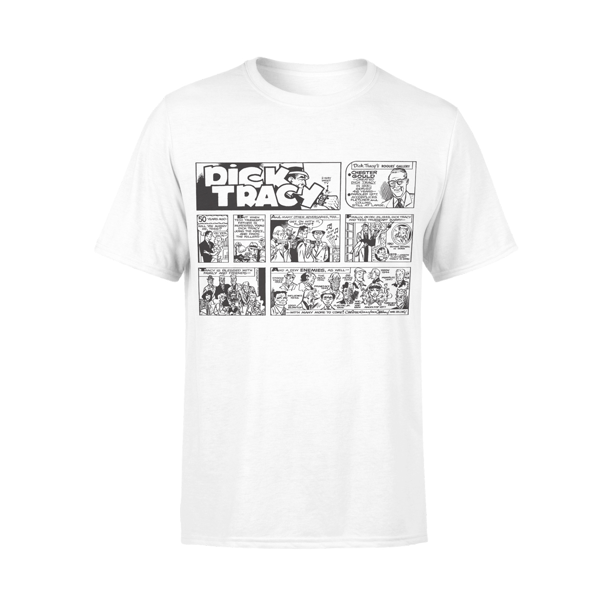 Dick Tracy History T-Shirt