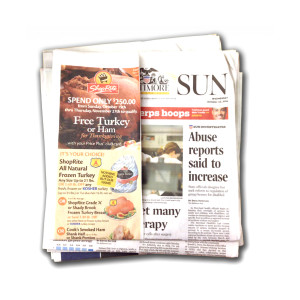 Baltimore Sun Media Group Back Issues